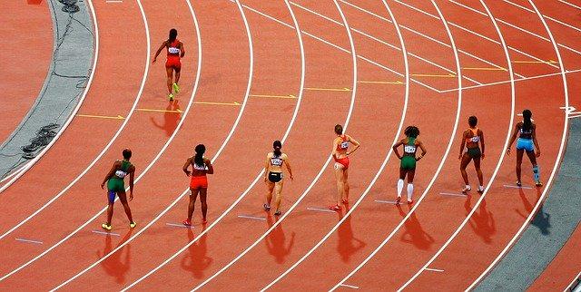 Règlement des pistes d'athlétisme